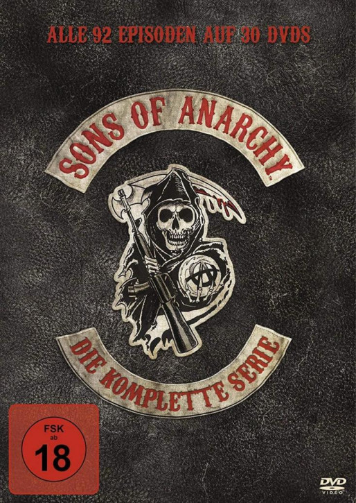 Sons of Anarchy - Komplettbox Staffel 1-7 [DVD]