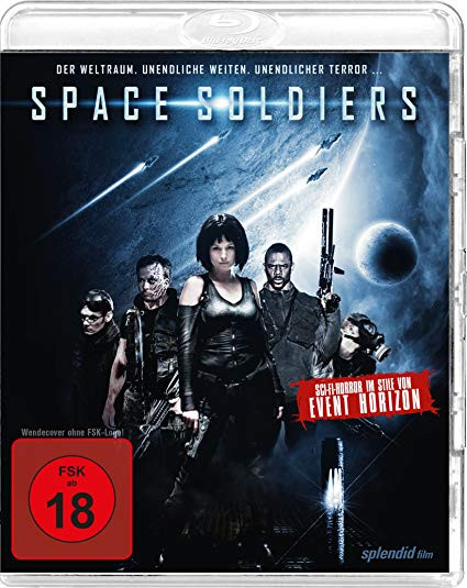 Space Soldiers - Uncut [Blu-ray]