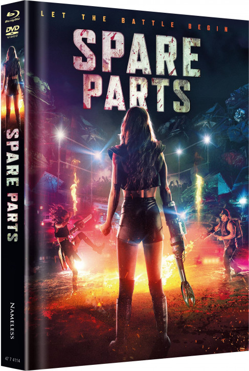 Spare Parts - Limited Mediabook - Cover A [Blu-ray+DVD]