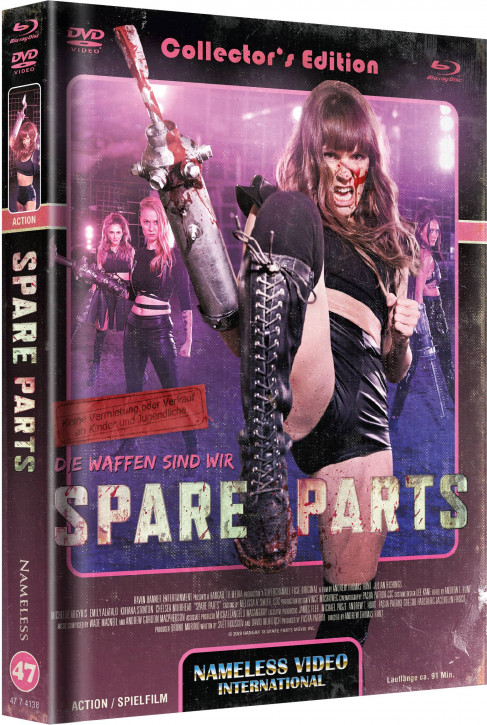 Spare Parts - Limited Mediabook - Cover C [Blu-ray+DVD]
