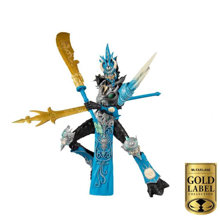 Spawn - Actionfigur - Mandarin Spawn Gold Label Series
