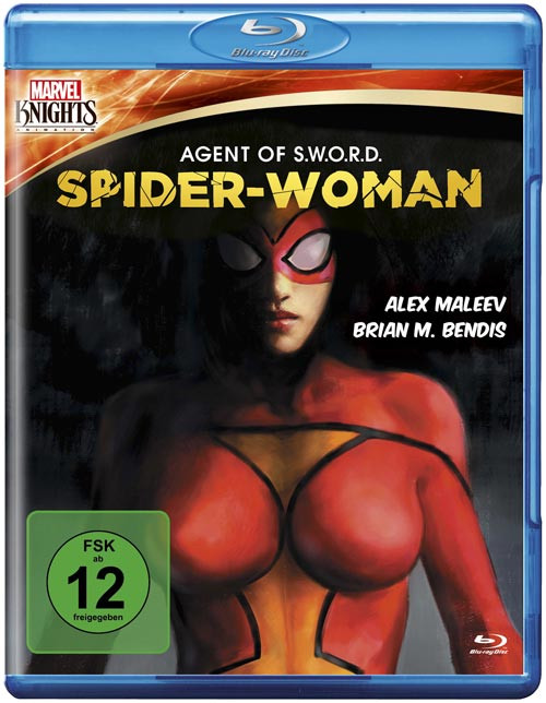Marvel Knights - Spider-Woman: Agent of S.W.O.R.D. (OmU) [Blu-ray]