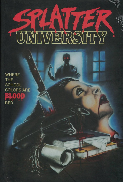 Splatter University - Große Hartbox - Cover C [Blu-ray]