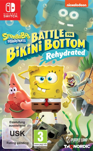 Spongebob SquarePants: Battle for Bikini Bottom [Switch]