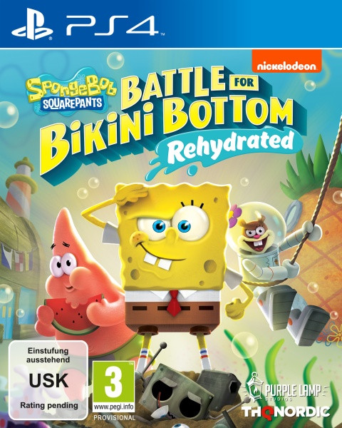 Spongebob SquarePants: Battle for Bikini Bottom [PS4]