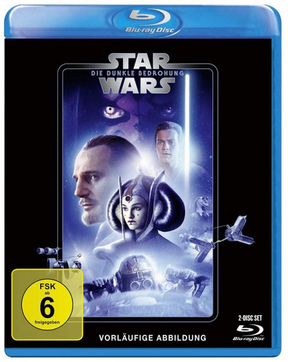 Star Wars Episode 1 - Die dunkle Bedrohung [Blu-ray]