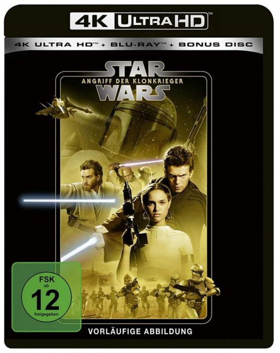 Star Wars Episode 2 - Angriff der Klonkrieger [4K Ultra HD+Blu-ray]