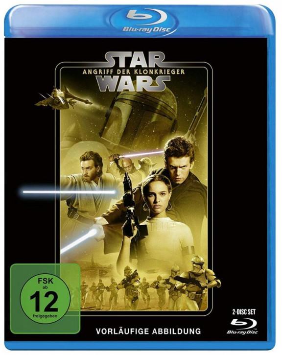 Star Wars Episode 2 - Angriff der Klonkrieger [Blu-ray]