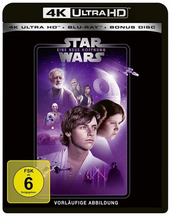 Star Wars Episode 4 - Eine neue Hoffnung [4K Ultra HD+Blu-ray]