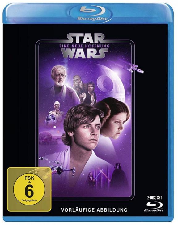 Star Wars Episode 4 - Eine neue Hoffnung [Blu-ray]