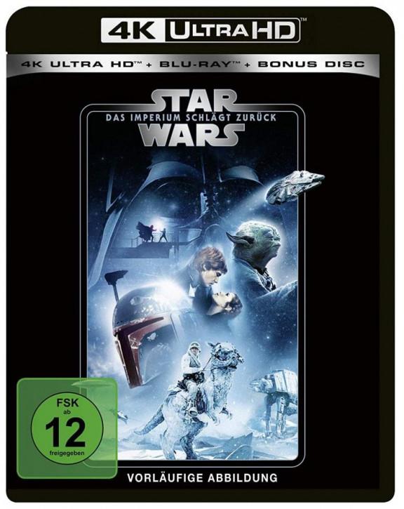 Star Wars Episode 5 - Das Imperium schlägt zurück [4K Ultra HD+Blu-ray]