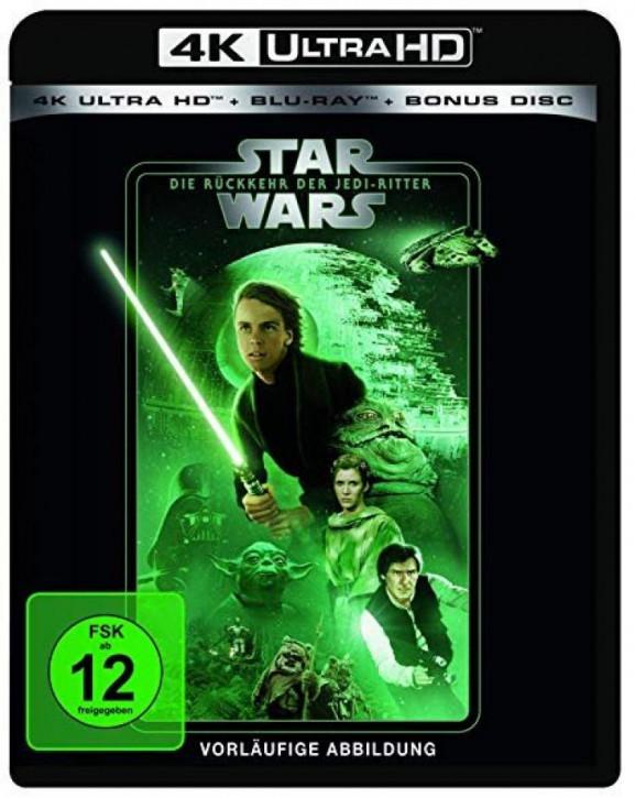 Star Wars Episode 6 - Die Rückkehr der Jedi Ritter [4K Ultra HD+Blu-ray]