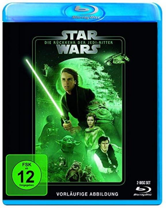 Star Wars Episode 6 - Die Rückkehr der Jedi Ritter [Blu-ray]