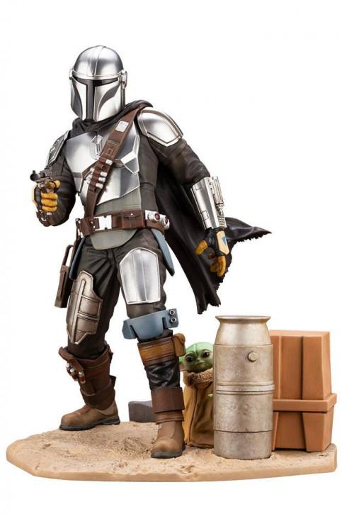 Star Wars The Mandalorian - ARTFX Statue 1/7 - Mandalorian & The Child
