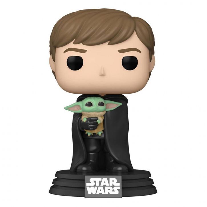 Star Wars The Mandalorian POP! - TV Vinyl Figur 482 - Luke with Child