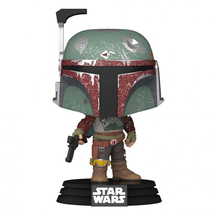 Star Wars The Mandalorian POP! - TV Vinyl Figur 484 - Marshal