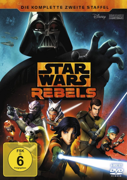 Star Wars Rebels - Die komplette zweite Staffel [4 DVDs]