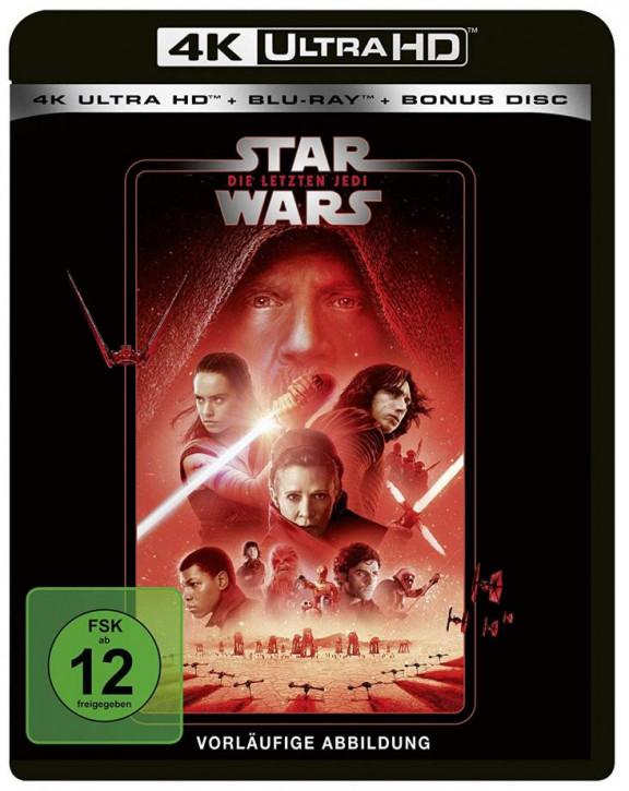 Star Wars: Die letzten Jedi [4K Ultra HD+Blu-ray]