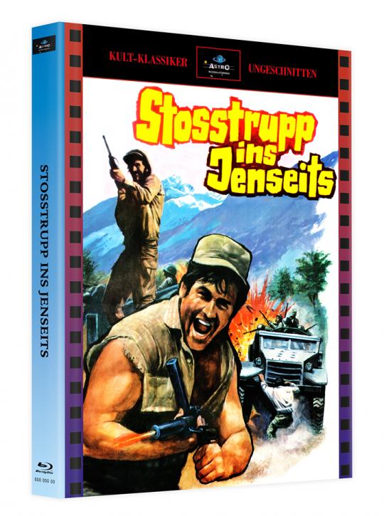 Stosstrupp ins Jenseits - Mediabook - Cover A [Blu-ray]