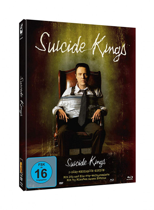 Suicide Kings - Limited Mediabook Edition [Blu-ray+DVD]