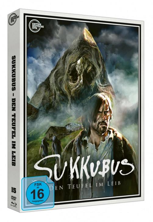 Sukkubus - den Teufel im Leib - Edition Deutsche Vita # 15 - Cover B [Blu-ray+DVD]