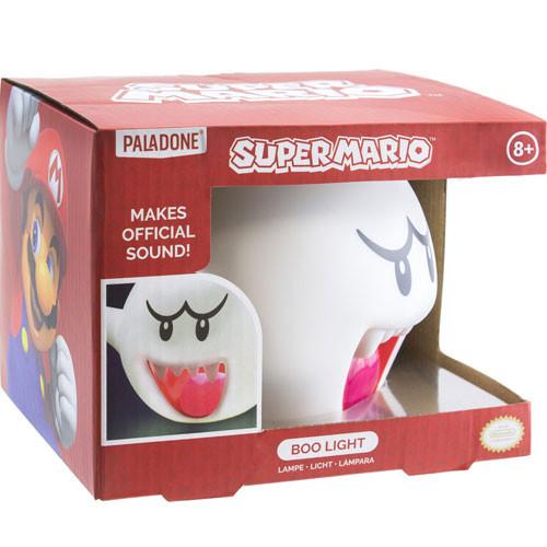 Super Mario - Leuchte - Boo mit Sound