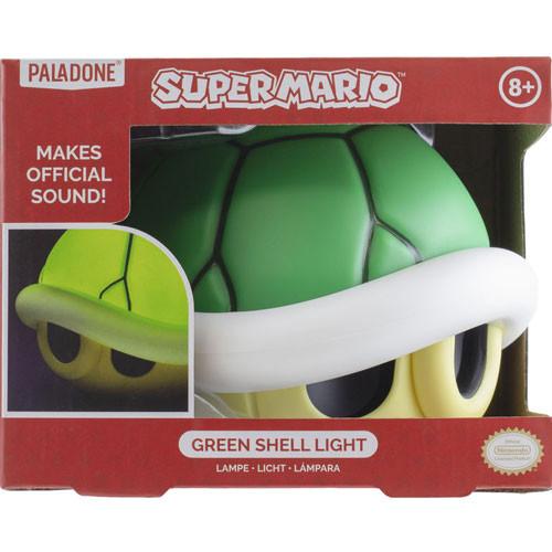 Super Mario - Leuchte - grüner Panzer mit Sound