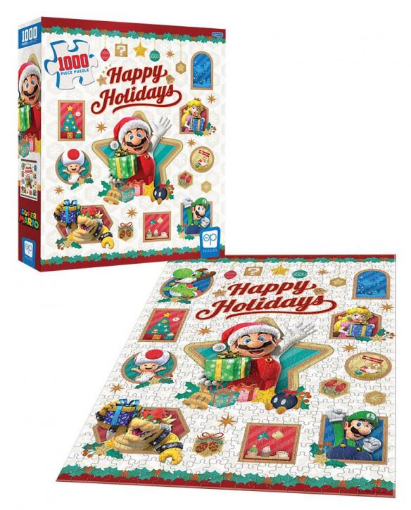 Super Mario - Puzzle - Happy Holidays
