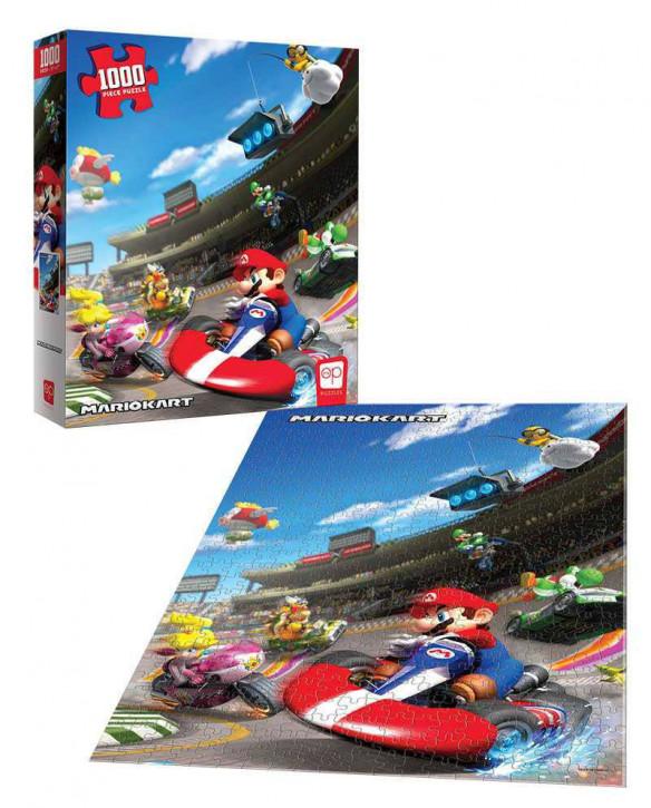 Super Mario - Puzzle - Mario Kart