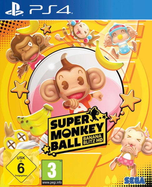 Super Monkey Ball Banana Blitz HD [PS4]