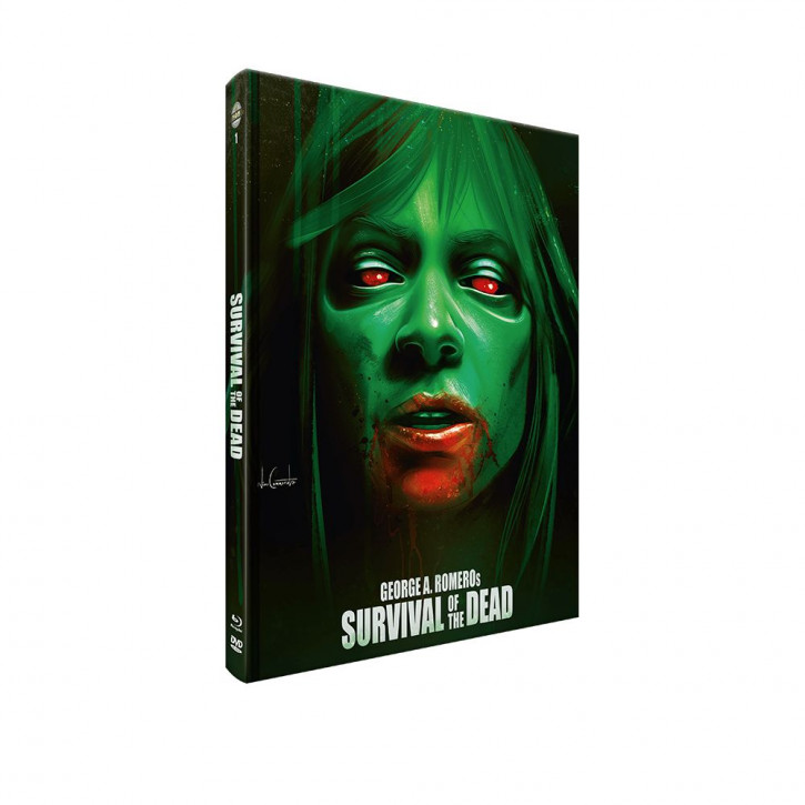 Survival of the Dead - Mediabook - Cover A [Blu-ray+DVD]