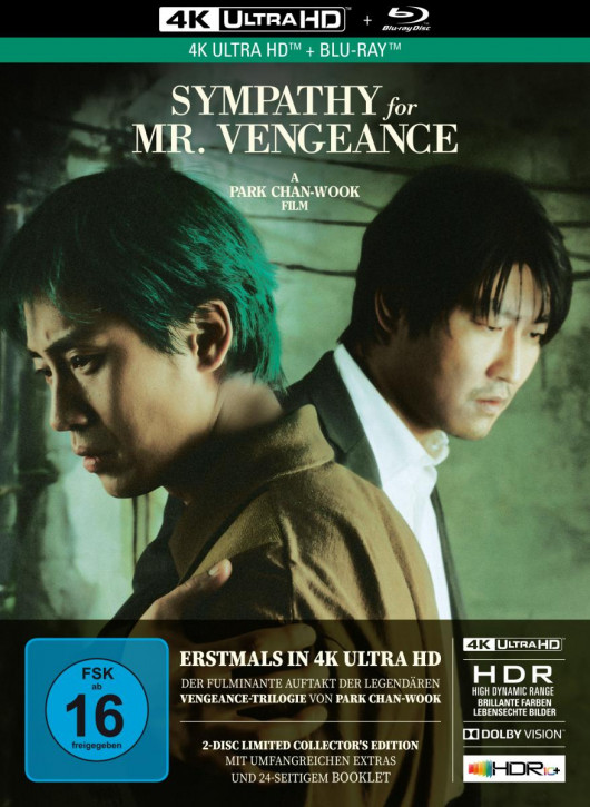 Sympathy for Mr. Vengeance - Limited Mediabook Edition [4K UHD+Blu-ray]