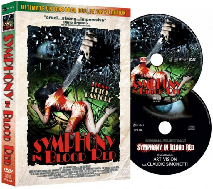 Symphony in Blood - Ultimate Uncensored Collectors Edition - Mediabook [DVD]
