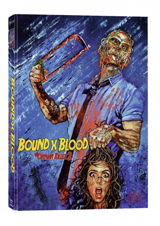 Bound X Blood (The Orphan Killer 2) - Cover B - Mediabook [Blu-ray+DVD]