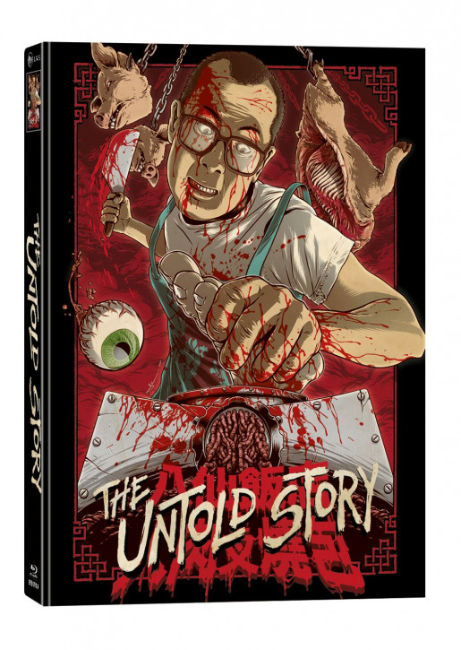 The Untold Story - Limited Mediabook Edition - Cover A [Blu-ray+DVD]