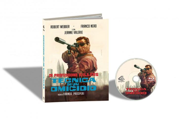 Tecnica di un Omicidio (Ich heiße John Harris) - Limited Mediabook Edition - Cover A [Blu-ray]