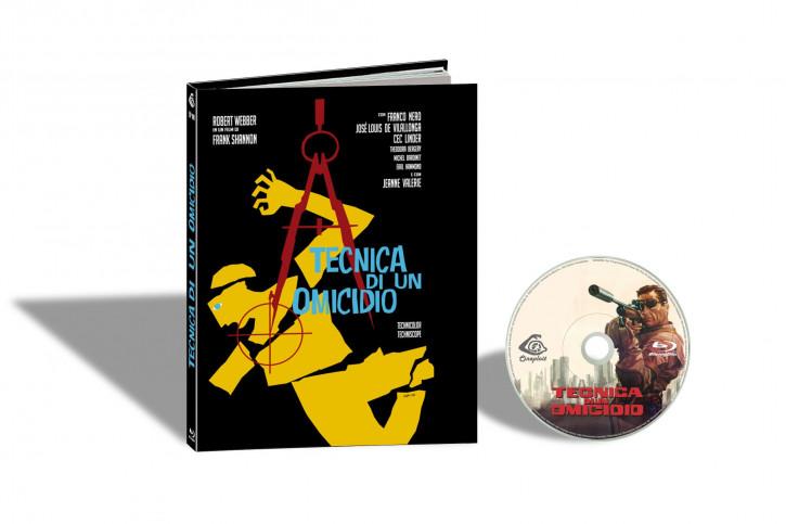 Tecnica di un Omicidio (Ich heiße John Harris) - Limited Mediabook Edition - Cover B [Blu-ray]