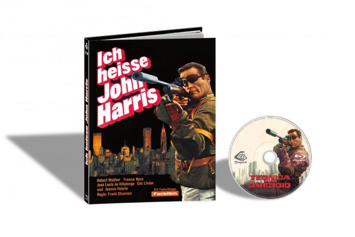 Tecnica di un Omicidio (Ich heiße John Harris) - Limited Mediabook Edition - Cover C [Blu-ray]
