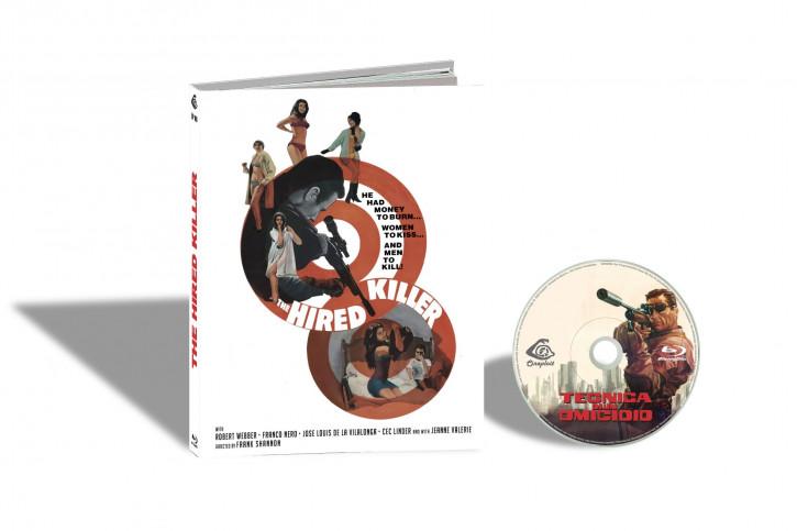 Tecnica di un Omicidio (Ich heiße John Harris) - Limited Mediabook Edition - Cover D [Blu-ray]