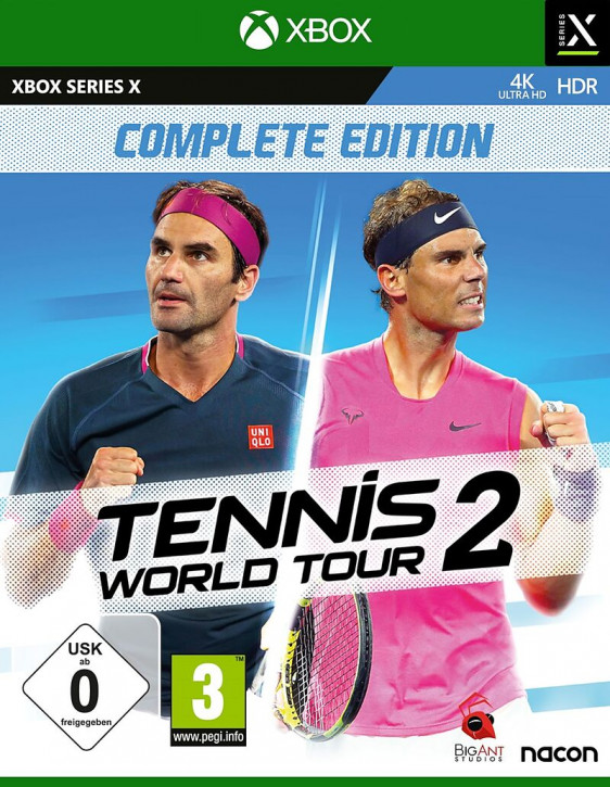Tennis World Tour 2 [Xbox Series X]