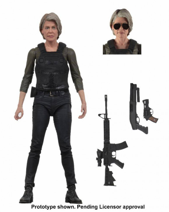 Terminator Dark Fate - Actionfigur - Sarah Connor