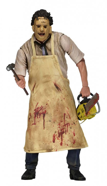 Texas Chainsaw Massacre - Retro Ultimate Actionfigur - Leatherface  (40th Anniversary)
