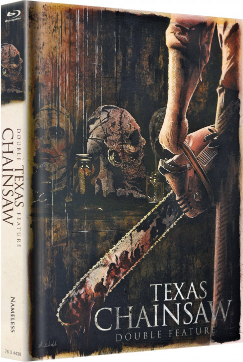 Texas Chainsaw - Double Feature - Limited Mediabook Edition [Blu-ray]