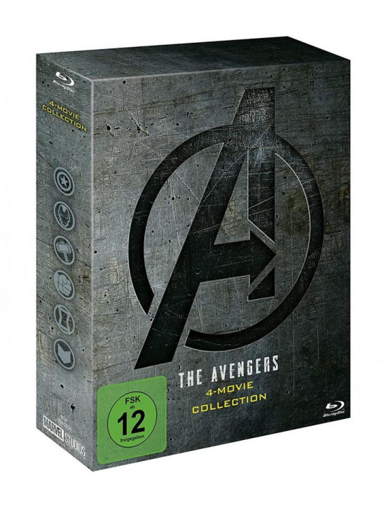 The Avengers 4-Movie Collection [DVD]