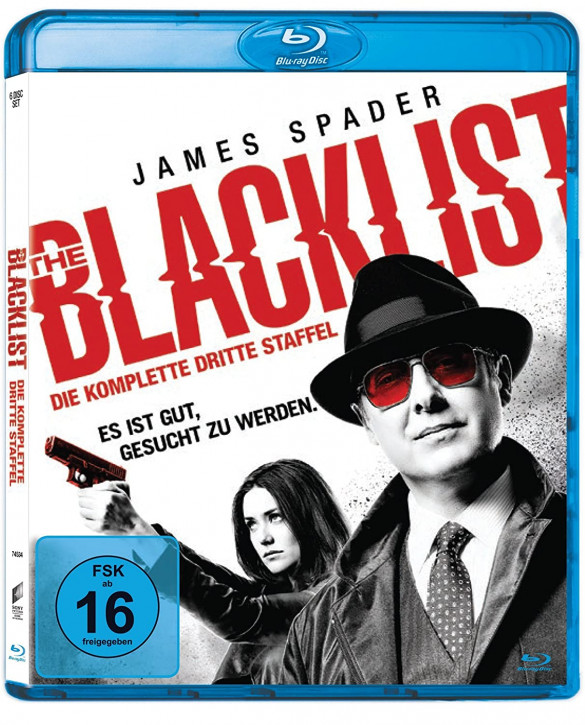 The Blacklist - Die komplette dritte Season [Blu-ray]