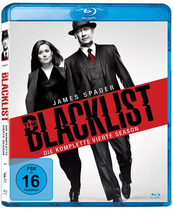 The Blacklist - Die komplette vierte Season [Blu-ray]