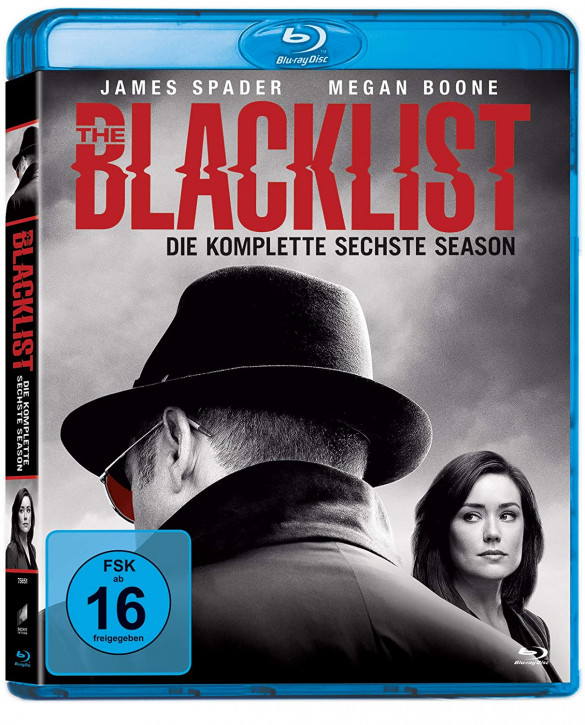 The Blacklist - Die komplette sechste Season [Blu-ray]