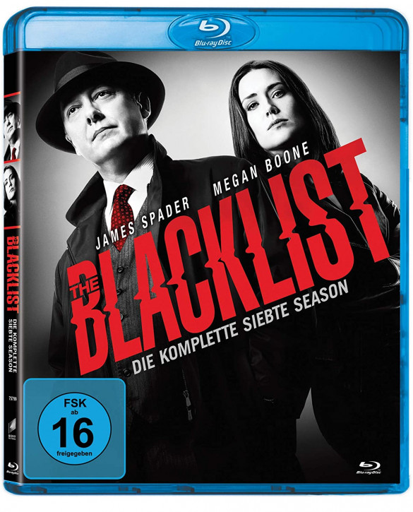 The Blacklist - Die komplette siebte Season [Blu-ray]
