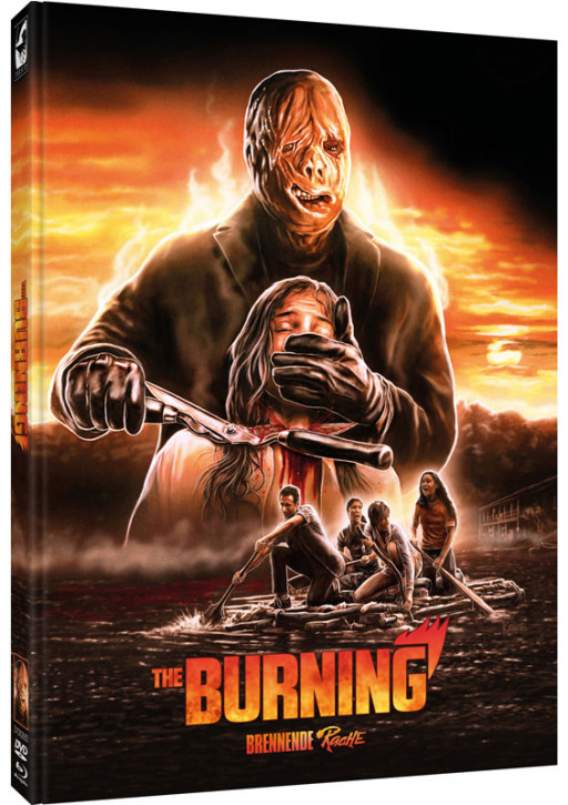 The Burning - Brennende Rache - Limited Mediabook - Cover D [Blu-ray+DVD]