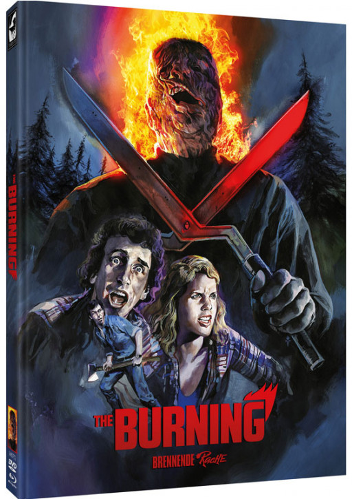 The Burning - Brennende Rache - Limited Mediabook - Cover E [Blu-ray+DVD]